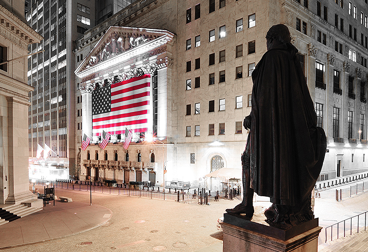 New York Stock Exchange, Wall St.